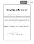 Accredited Business Quality Policy
